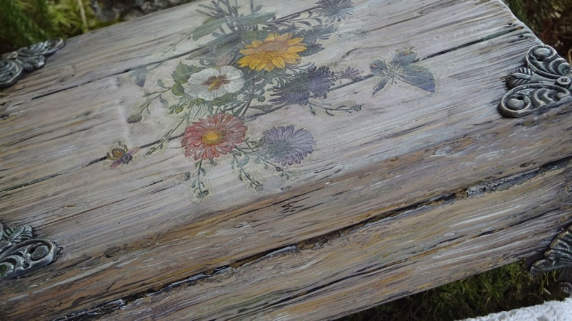 старое женщине подарок шкатулка ручной старину работы дерево девушке имитация под