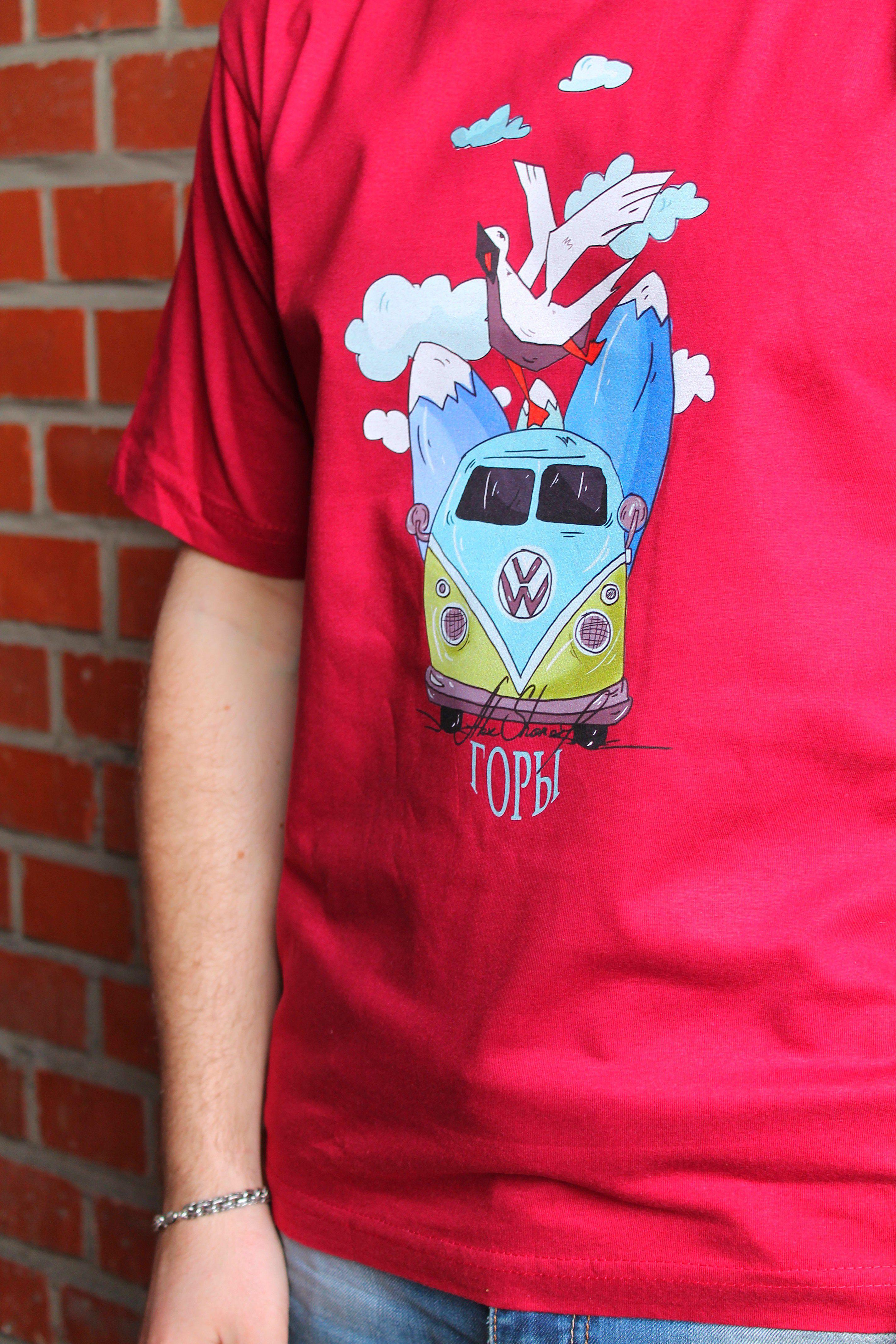 принта футболке лиsьянора горы авторский принт печать