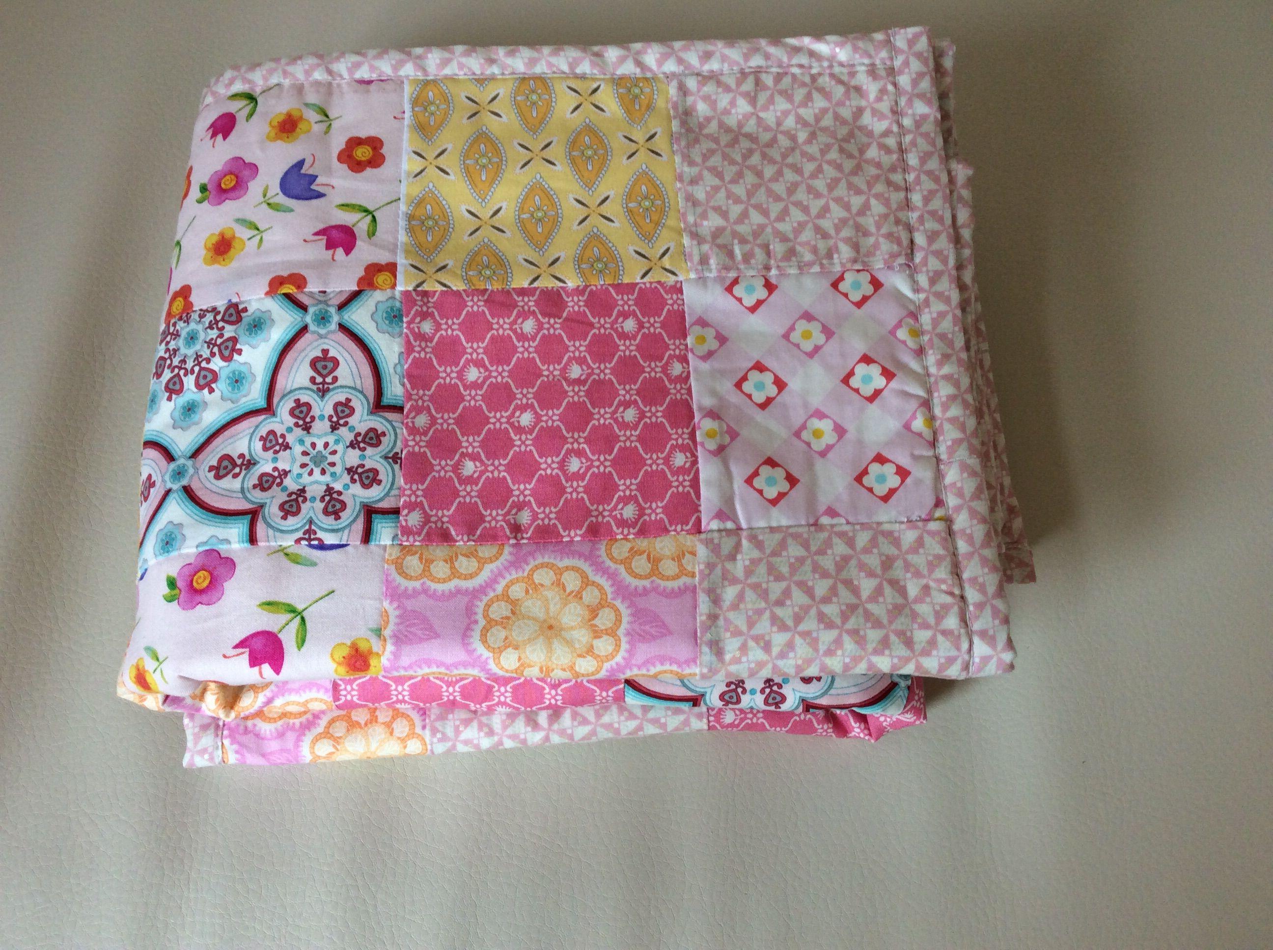 хлопок подарок пэчворк детское одеяло
