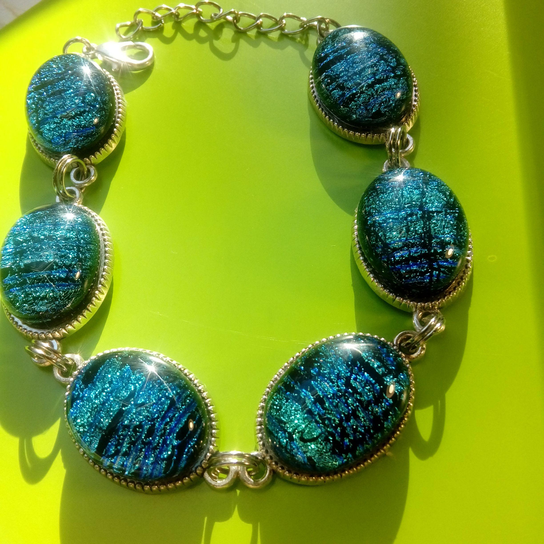 бижутерия подвеска украшения эксклюзив кулон серьги браслет подарок синий