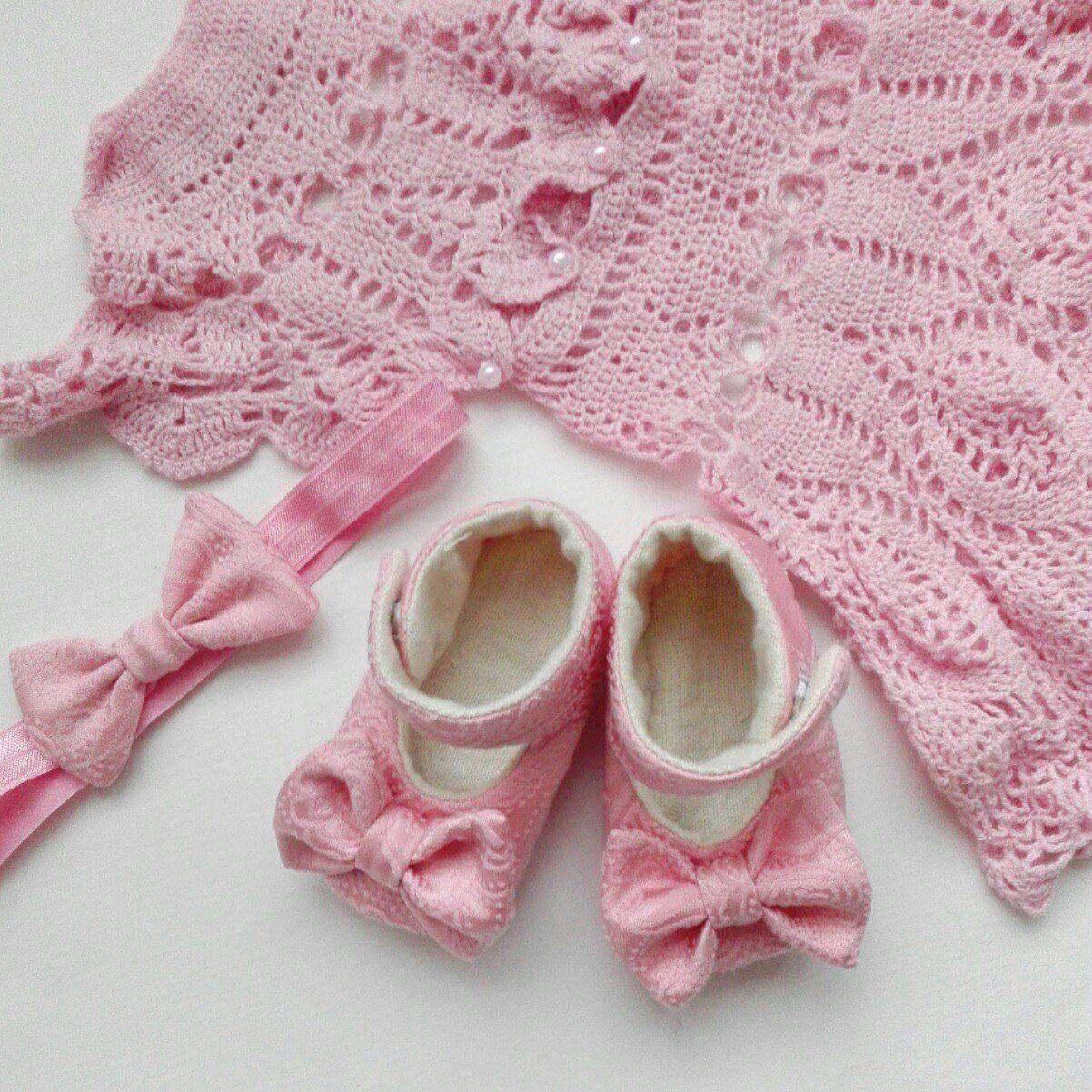 туфельки обувь платье ребенок пинетки повязканаголову дети