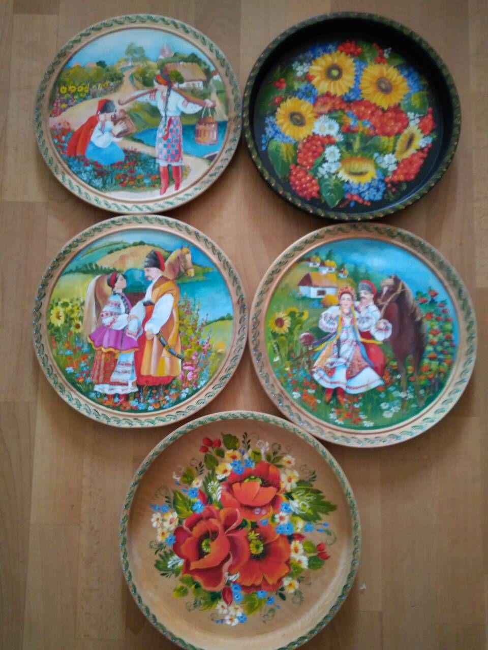 роспись декоративная сувенир подарки украинский