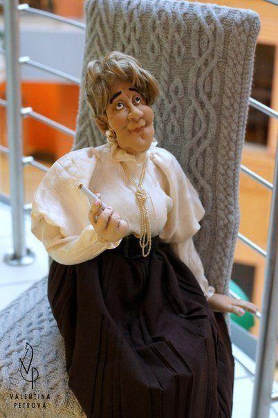 авторскаяработа ручнаяработа подарок кукла оригинальныйподарок эксклюзив роскошь фаинараневская кукланазаказ