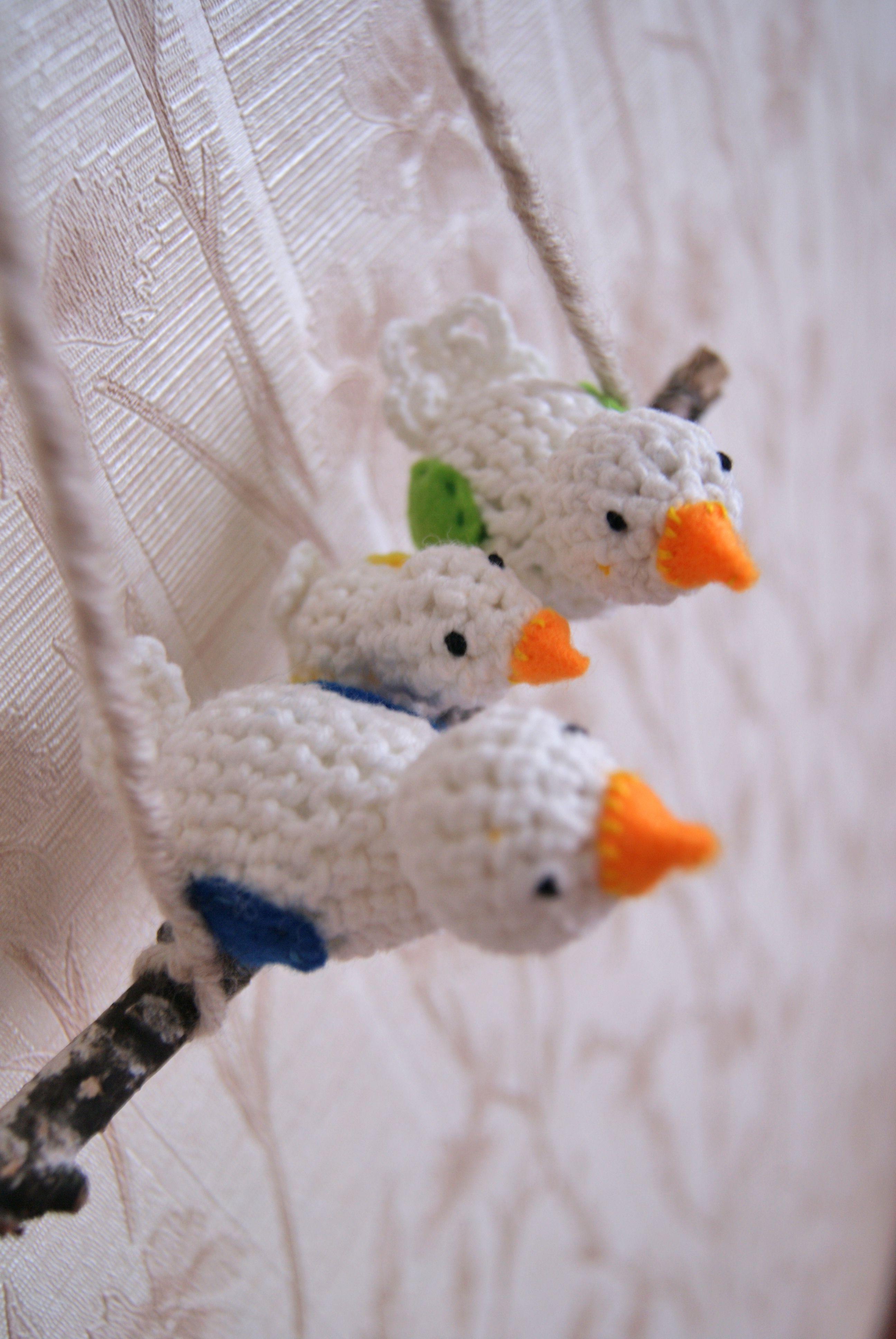 птички подарок вязание декор скворечник подарокнасвадьбу дом вязаниеназаказ