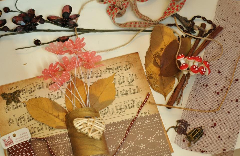 мастеркласс панно декор интерьер цветы осень