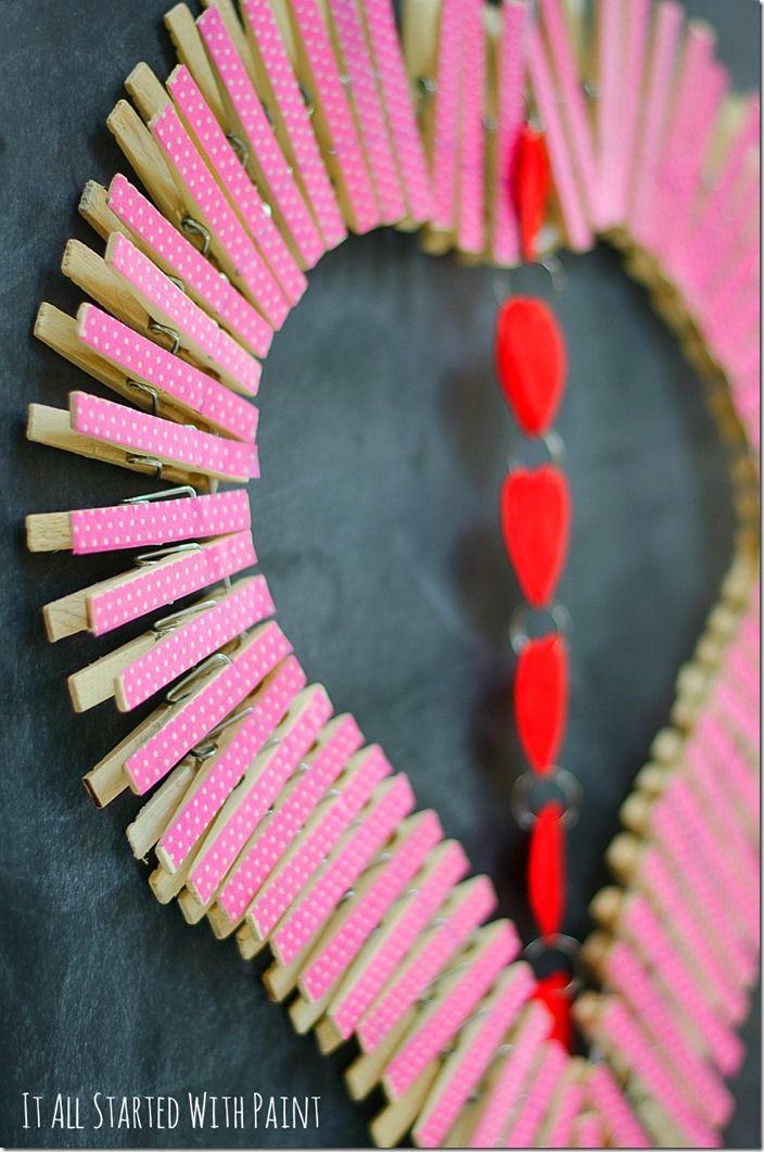 рукоделие день валентина валентинка на венок святого праздники