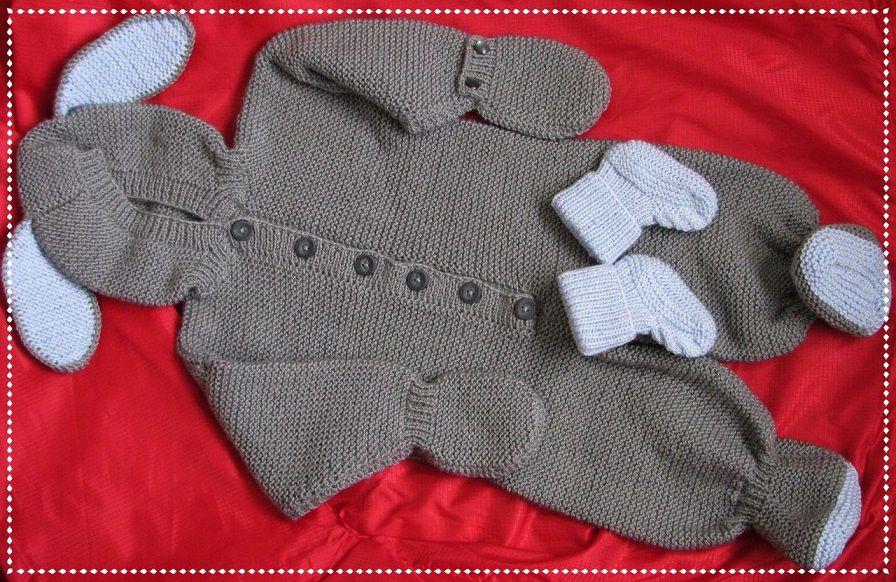 новорожденным спицами вязанная одежда детская