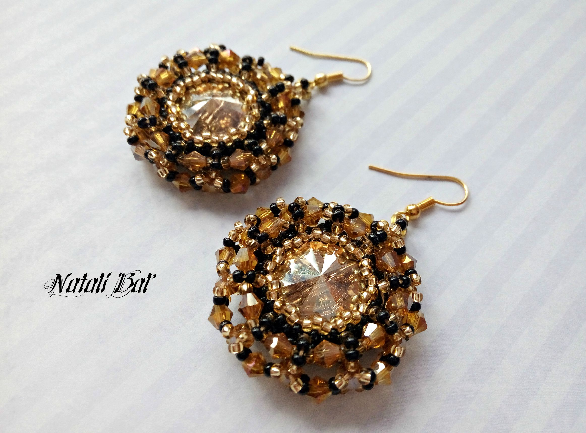 handmade серьги jewelry аксессуары fashion style бижутерия красотакоторуюможноносить swarovski стиль своимируками ручнаяработа мода