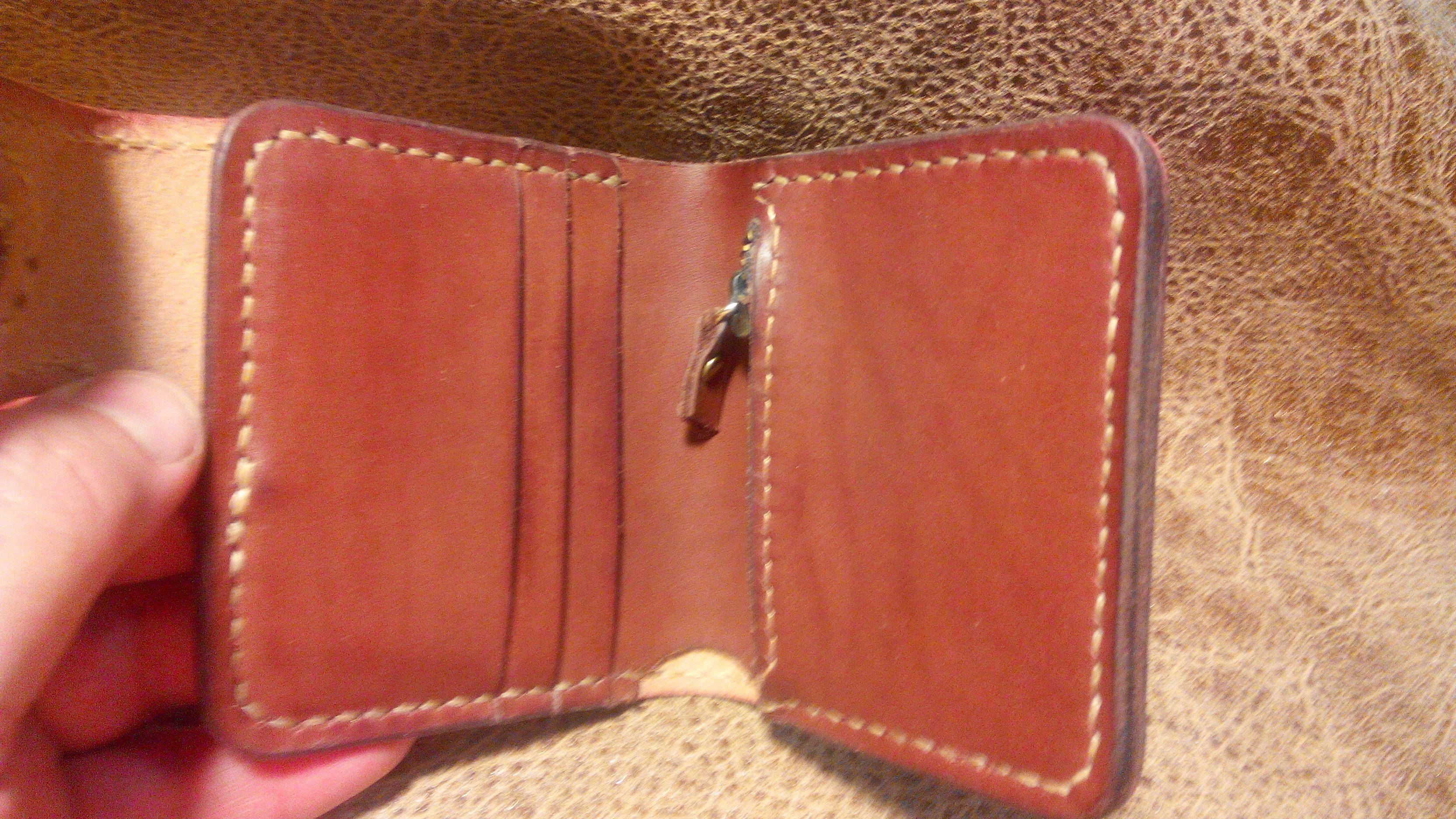 кожа портмоне работа ручная натуральная кошелёк hande made