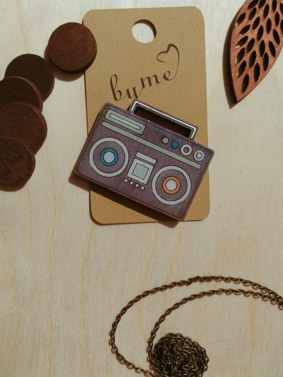 значки броши украшение значок работы ручной дерева деревянная деревянные брошка
