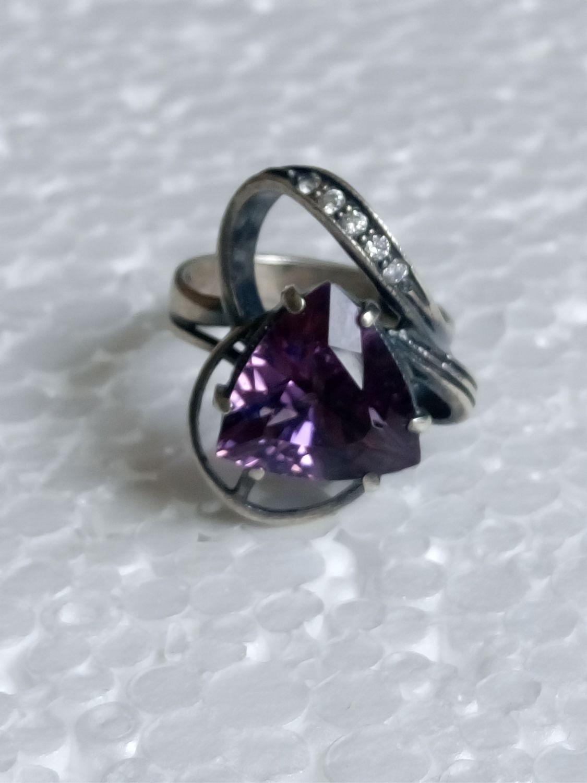 ручнаяработа аметист кольцо аметисткамень аметистогранка каменьаметист