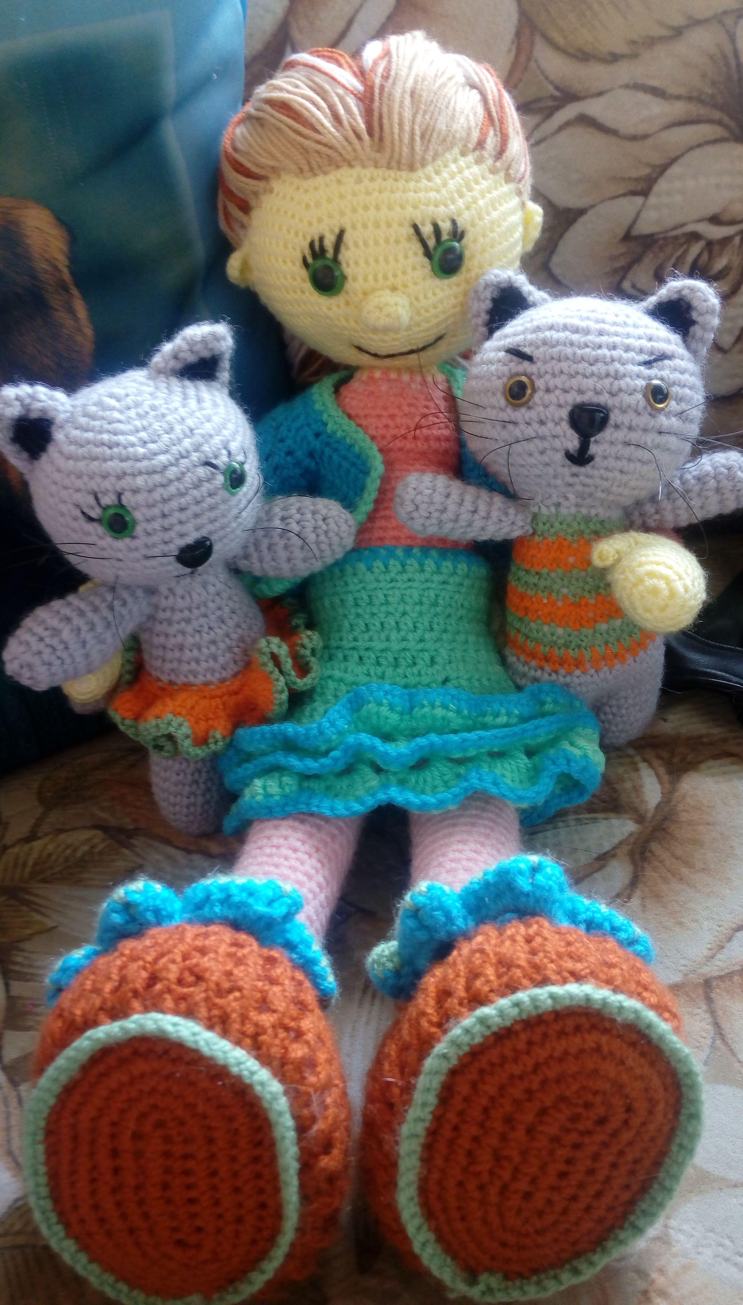игрушки для вязанеые детей подарки