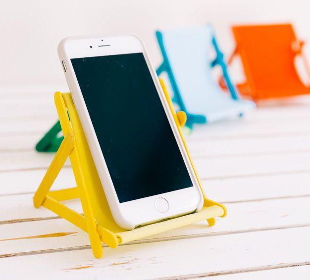 органайзера палочек мобильного идеи своими ремесло мороженного поделки дома для телефона руками сделай сам
