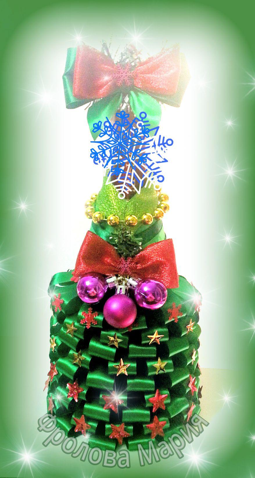 2017 мороз красноярск канзаши украшения новый handmade елка праздник хэндмейд новогодние дед ручнаяработа своимируками на год подарок