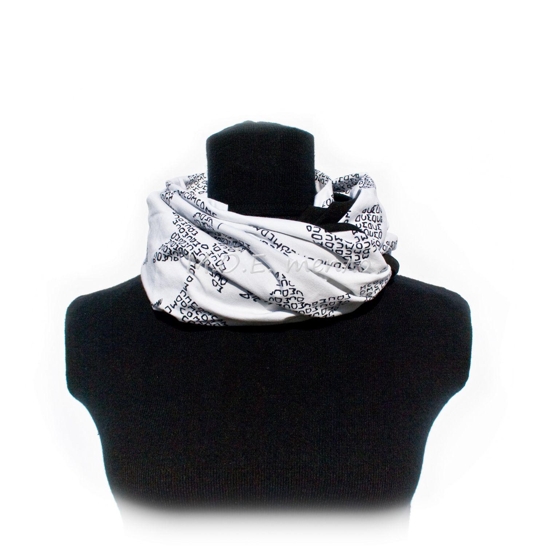 снуд шапки шарфы моетепло снуды торжественно элегантно женственно двойныеснуды модно стильно шапка тепло аксессуары черное белое аксессуар шарф красиво