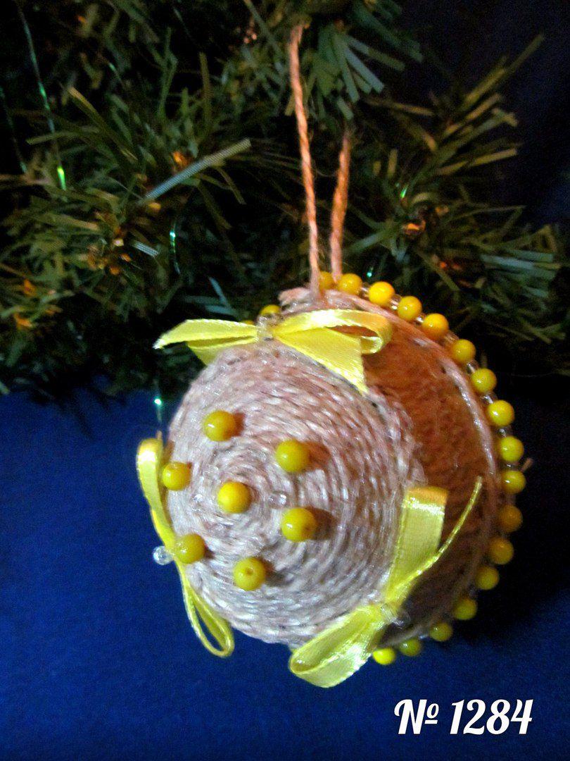 хенд новогодний ручная шарик