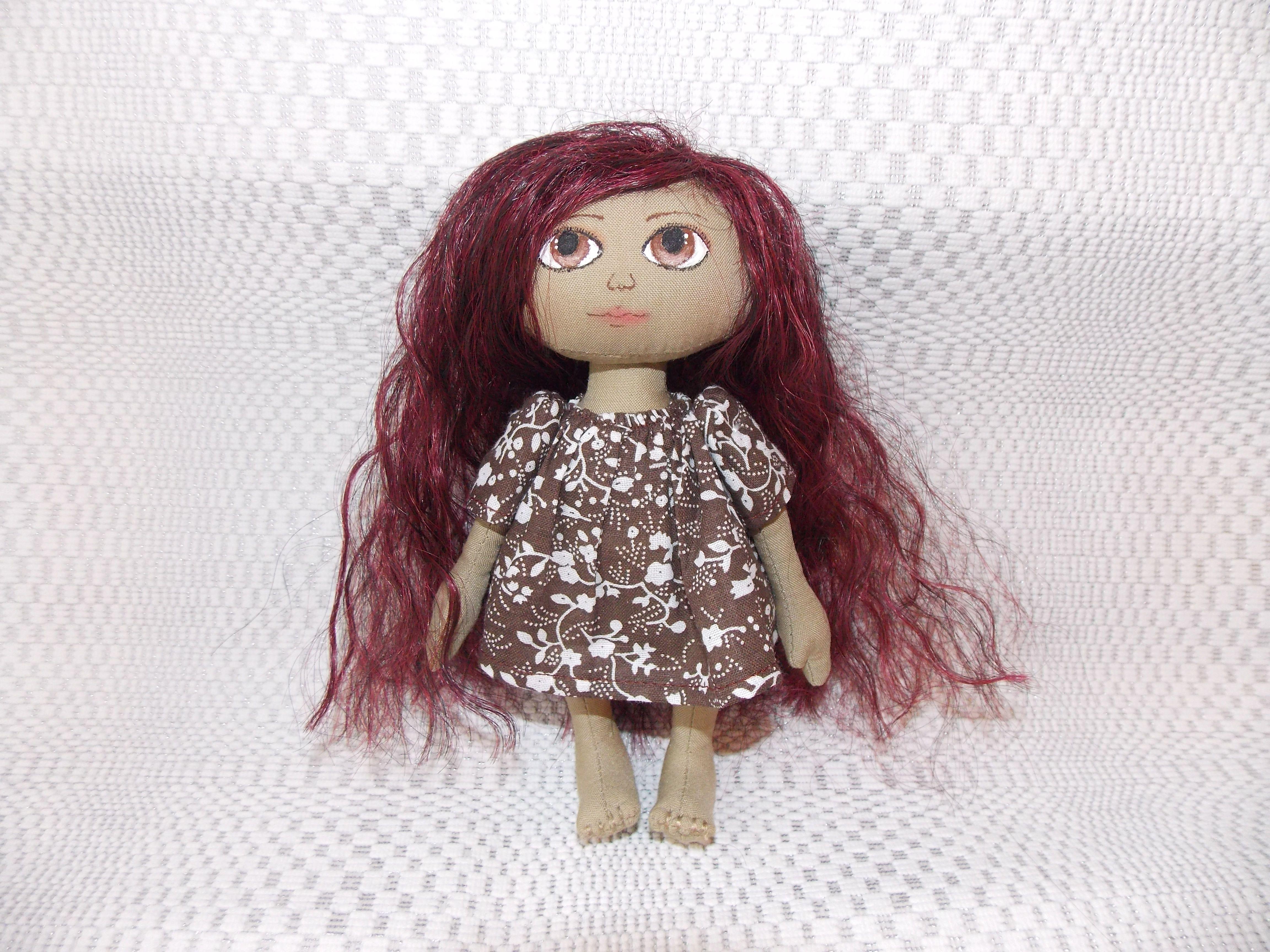мягкая игрушка кукла интерьерная