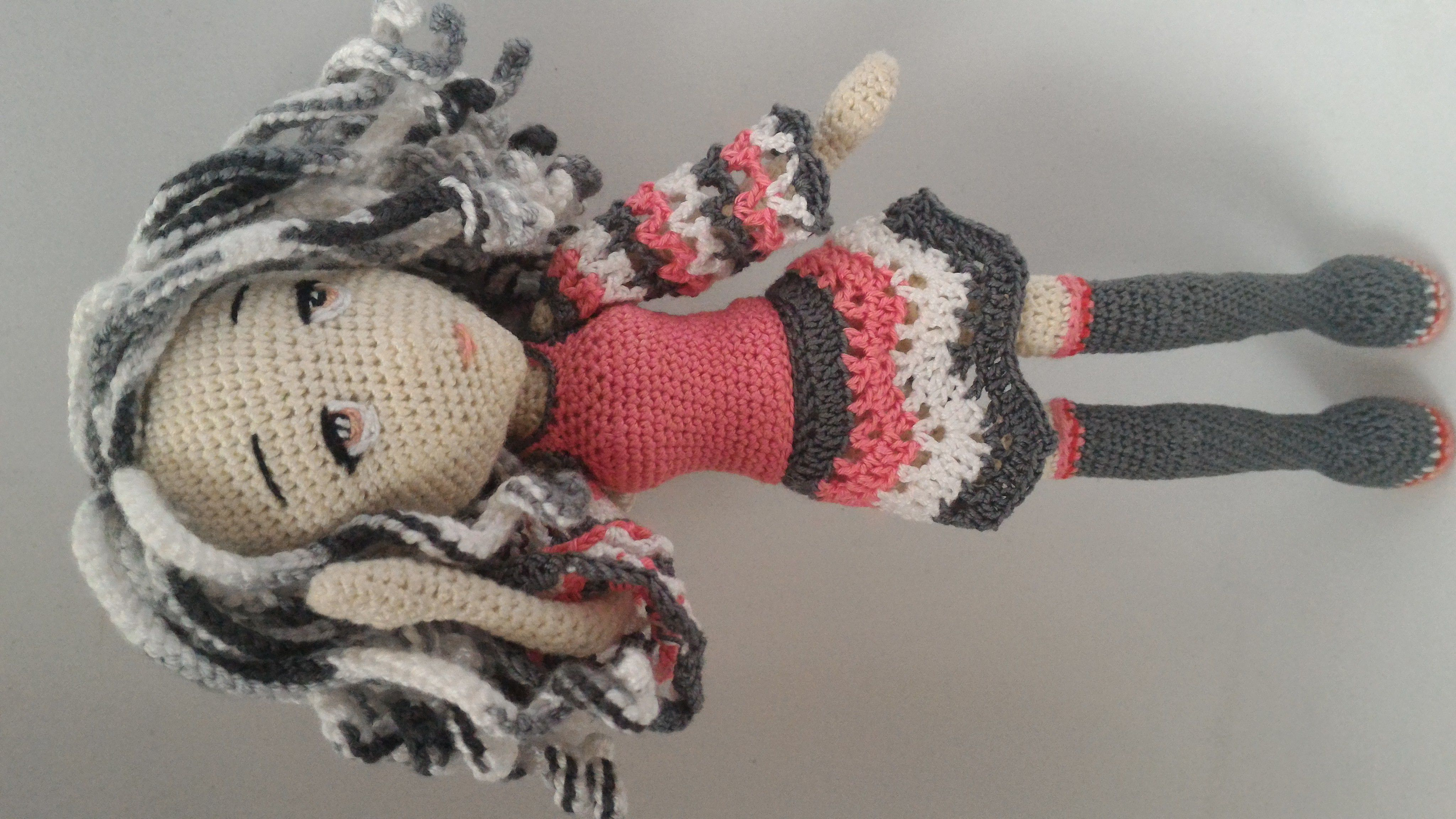 крючком семинарами каркасная связанная амигуруми кукла подарок