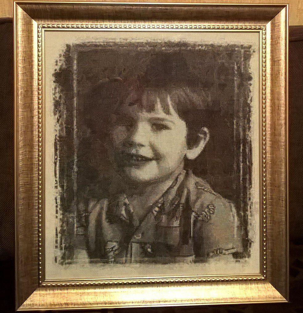 вышивка оригинальные подарки картины портреты