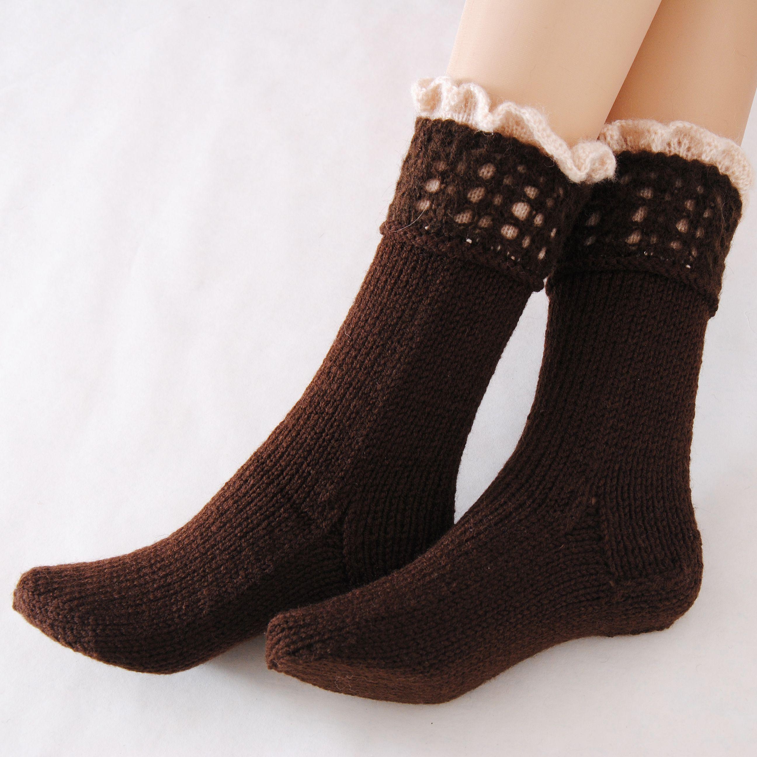 женские обувь модные шерстяные вязаные купить носочки носки домашняя подарок