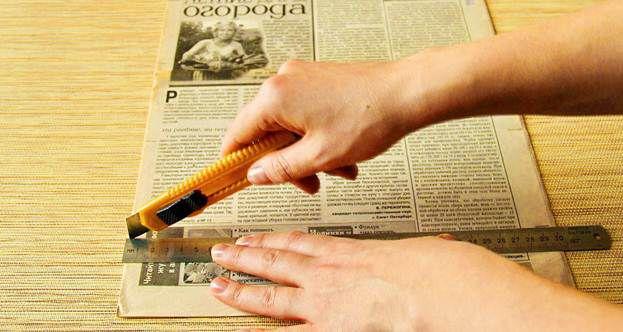 Плетение из газет 4
