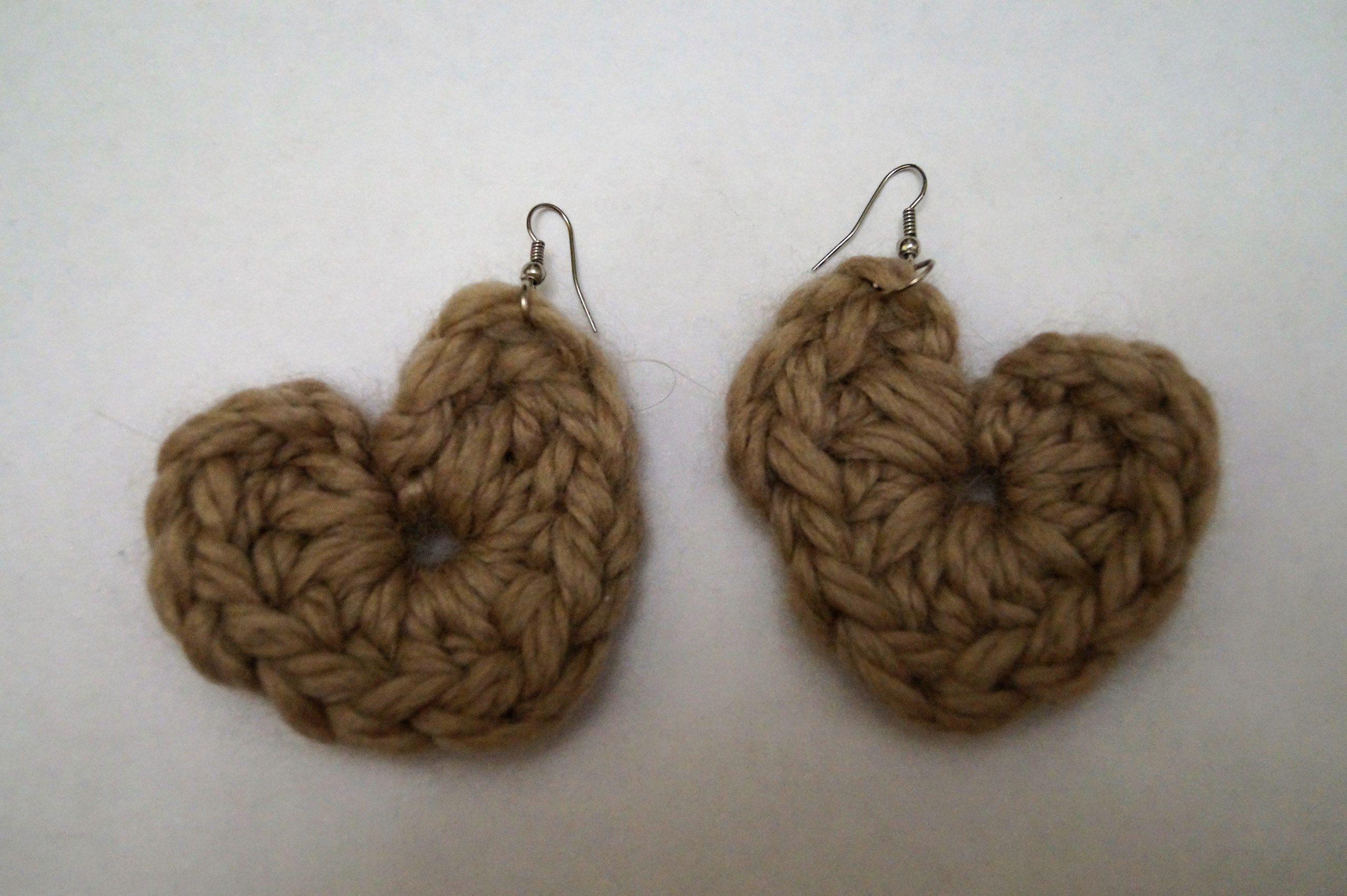 вязание firitaeshop handmade серьги