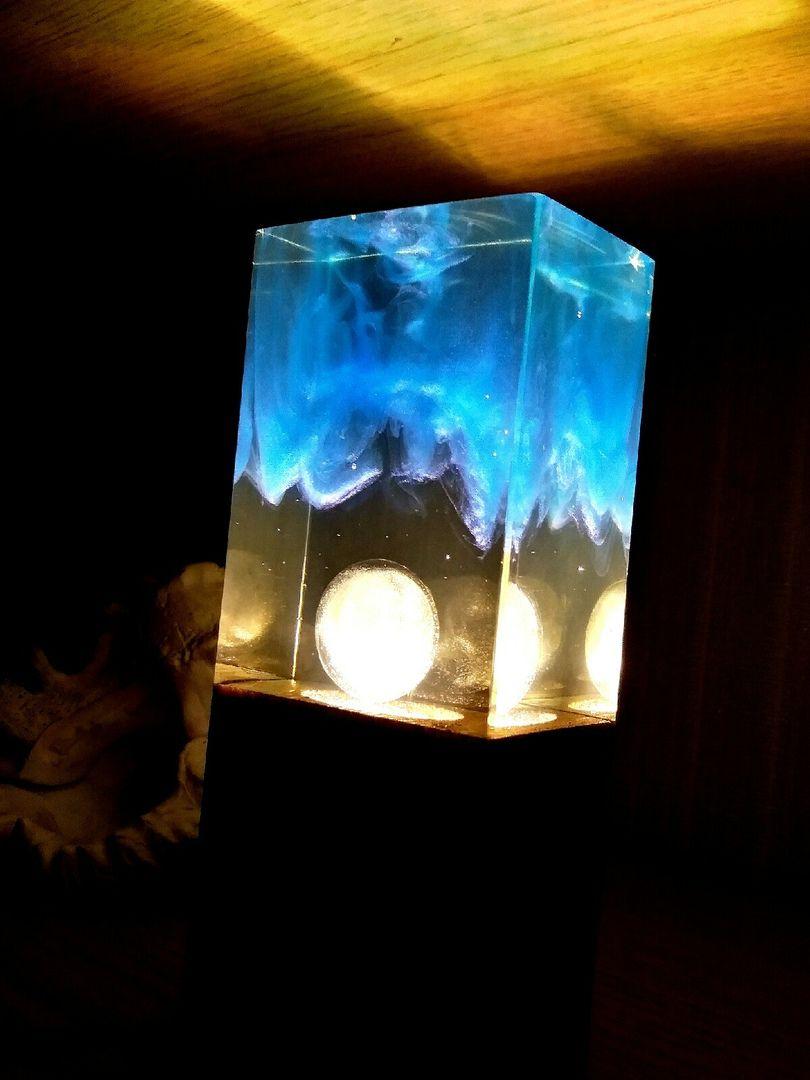 эпоксидной светильник смолы