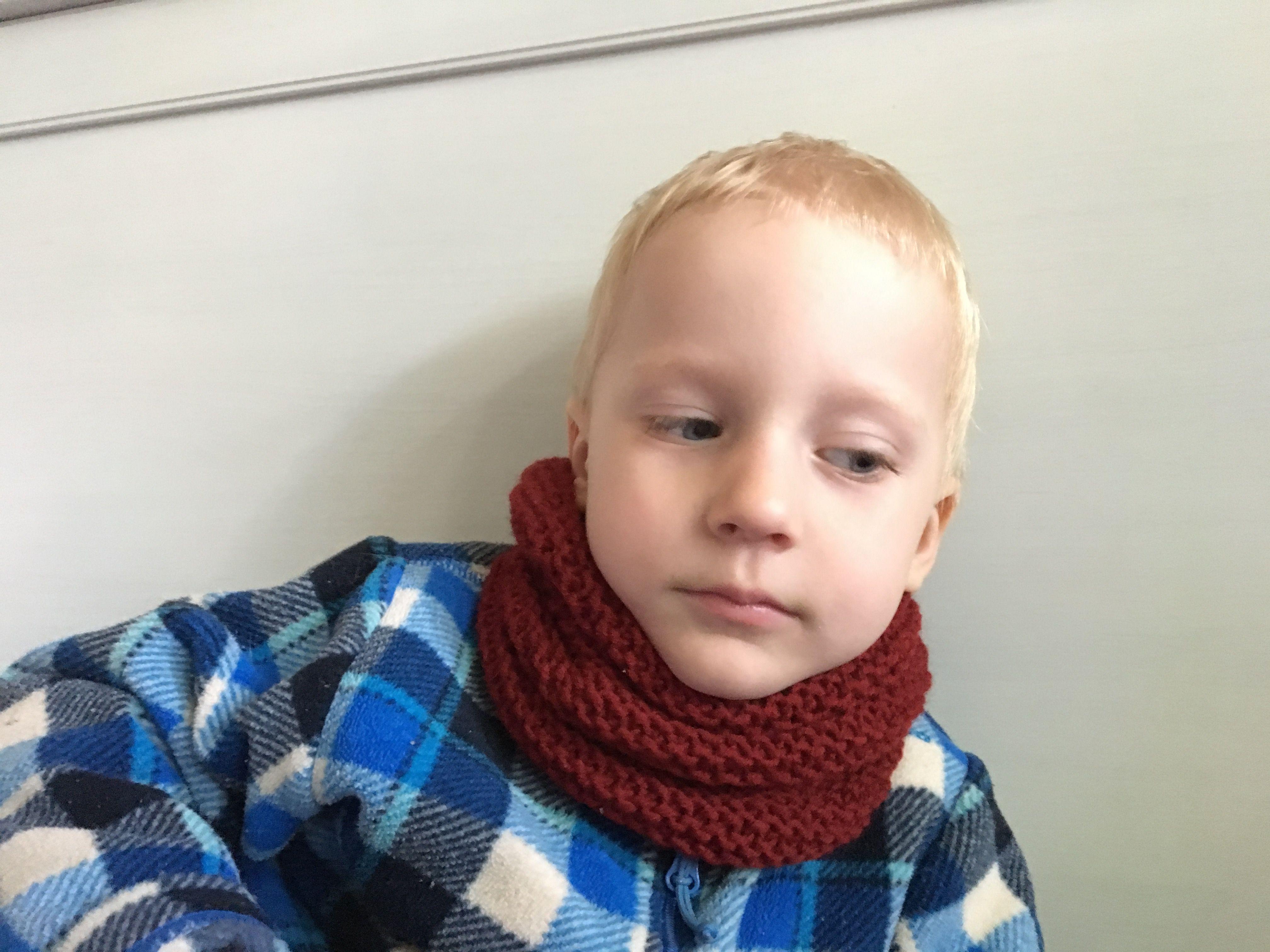петербург снуд вязание детский санкт спицами
