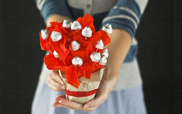 Букеты из конфет своими руками 4