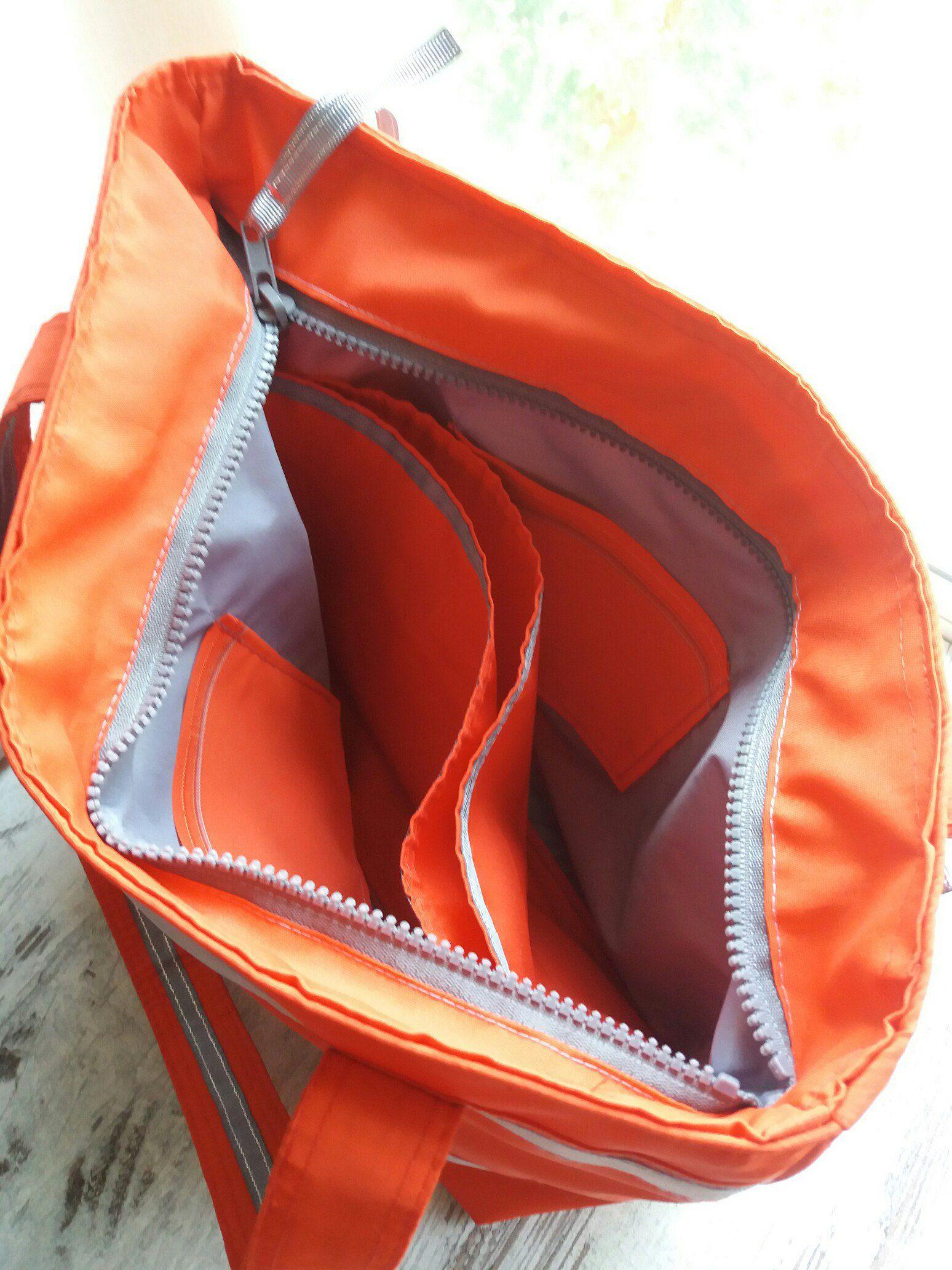 большая текстиль женская сумка