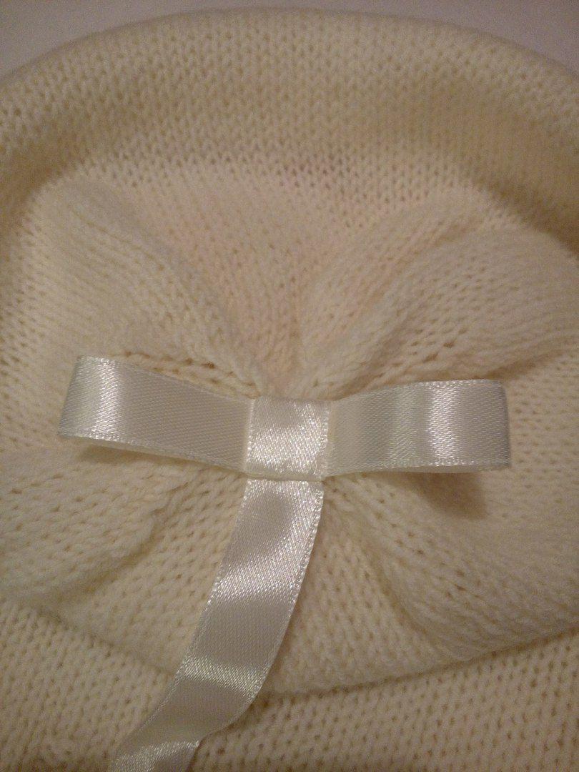 вязание женская шапка