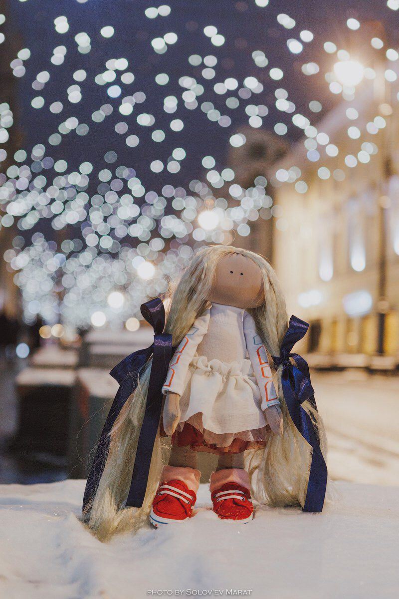 ткани подарок тильда кукла