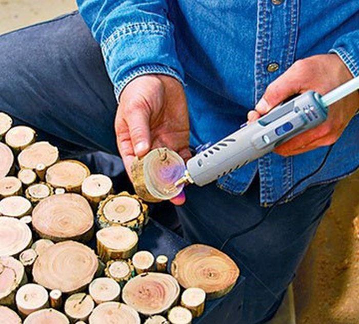 креативнаяидея сделайсам хендмейд дерево вдохновение тумбаизспилов тумба идеядлядома поделкииздерева своимируками