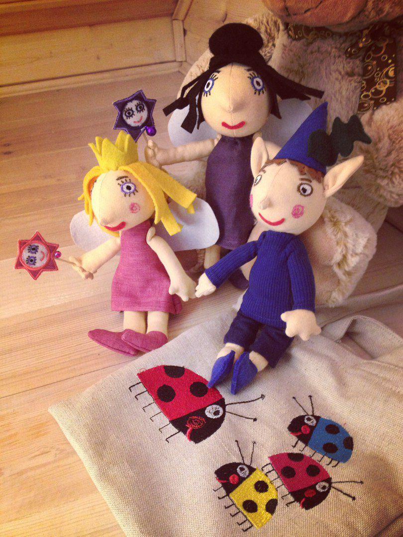 холлиибен няняплам подаркидетям игрушки