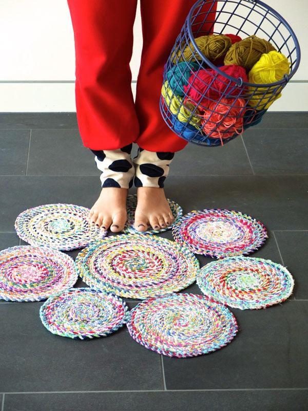 изткани коврик мастеркласс лоскут излоскутов ткань