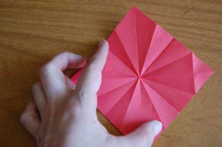 Оригами из бумаги цветы 20