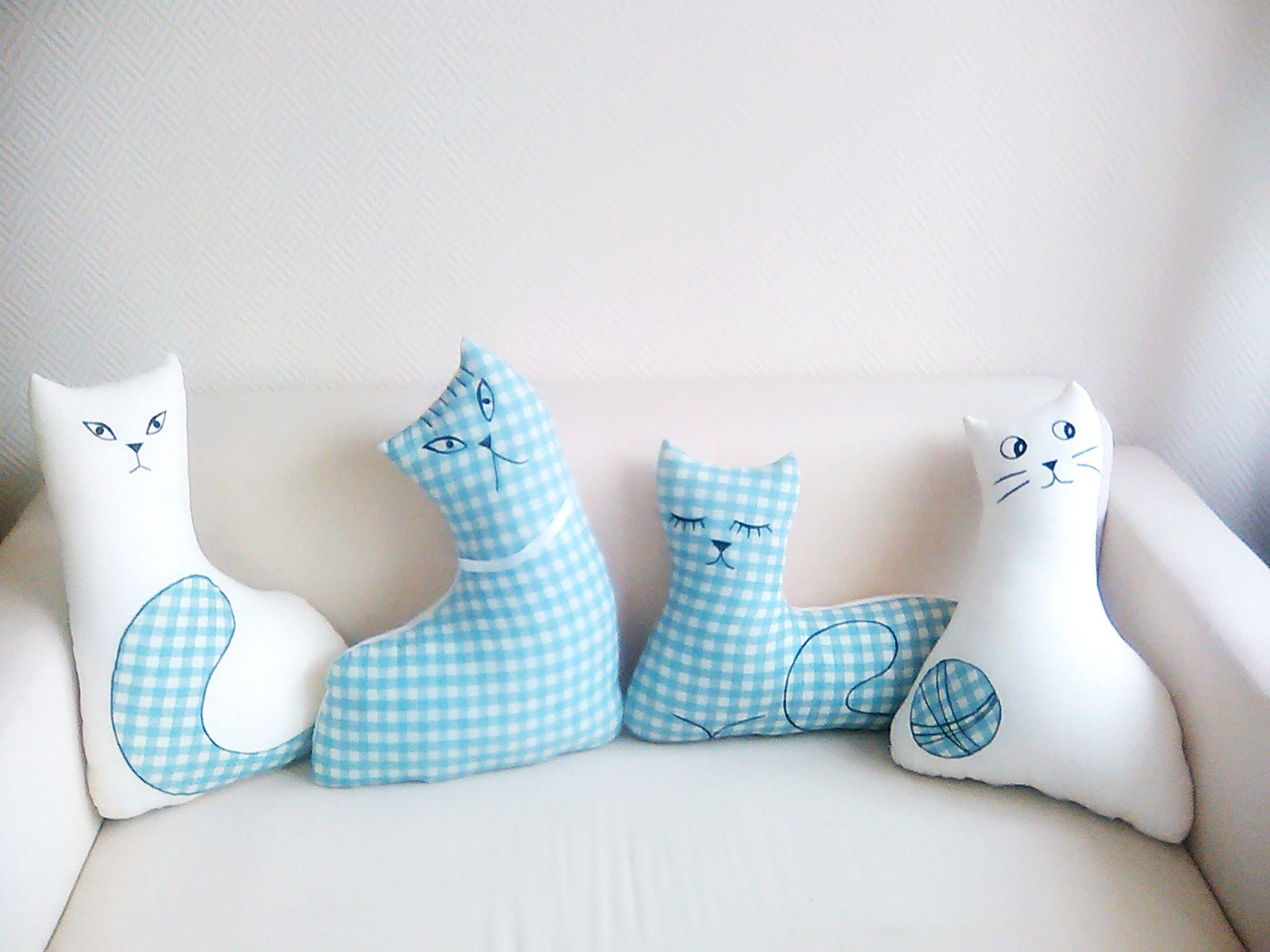 Интерьерные коты своими руками фото