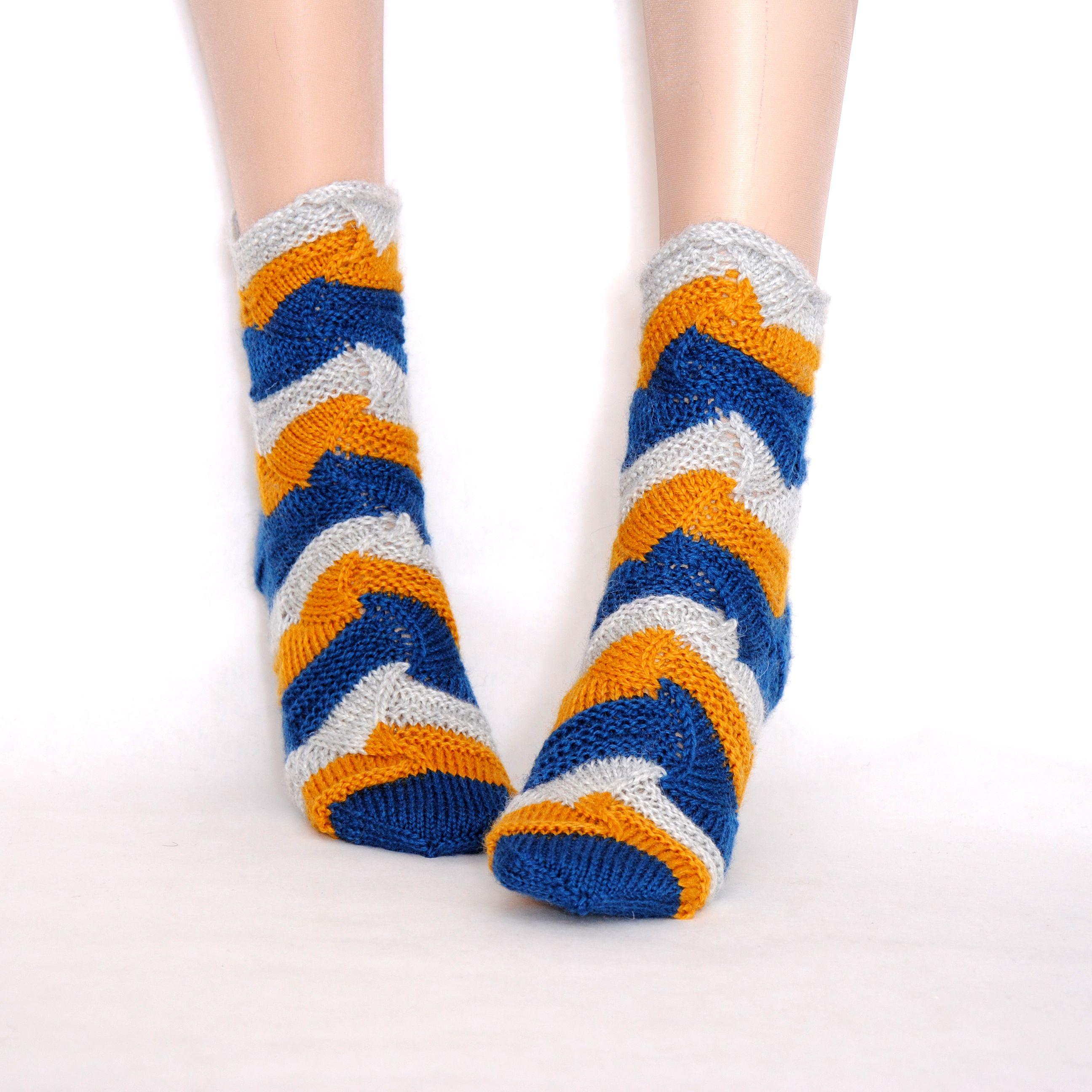 подруге вязаные подарок купить шерстяные женские носки тёплые