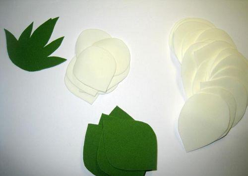 Цветы из фоамирана мастер класс 4