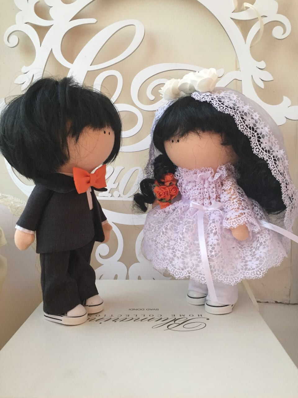 жених работа ручная невеста интерьерные и куклы свадьба