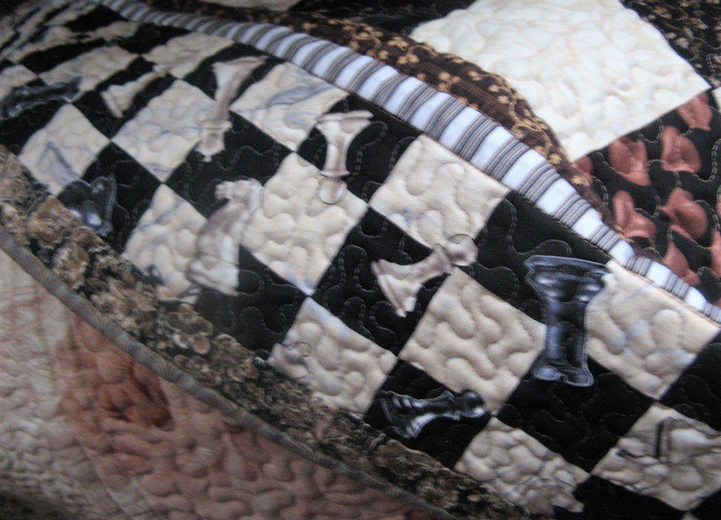 шитьё галка рассказова пэчворк печворк квилтинг квилт шахматная шахматы покрывало доска стёжка подарок лоскутное