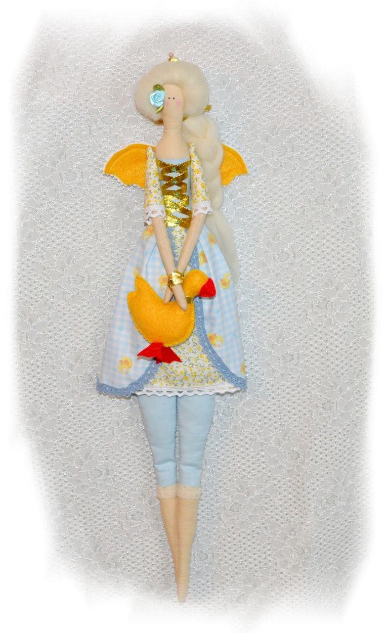 плюшевый пряник игрушка кукла handmade тильда ручная работа подарок