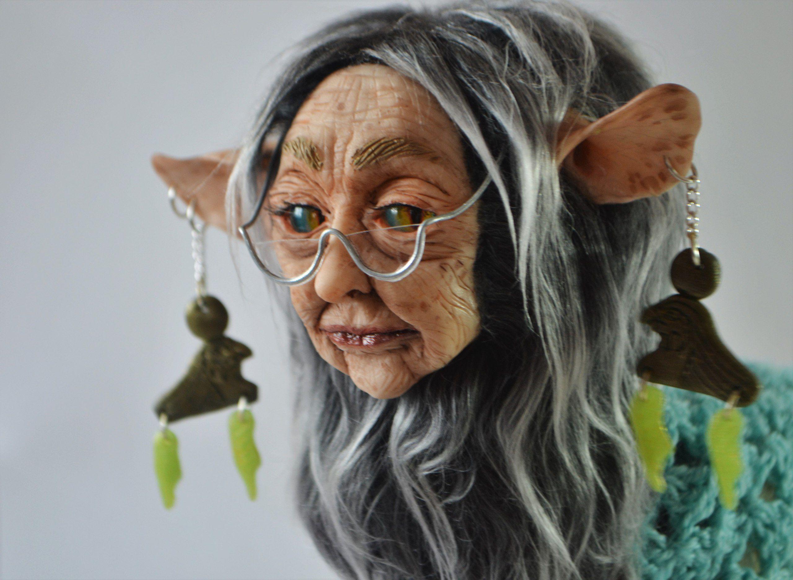 ручная работа кукла сфинкс бабушка