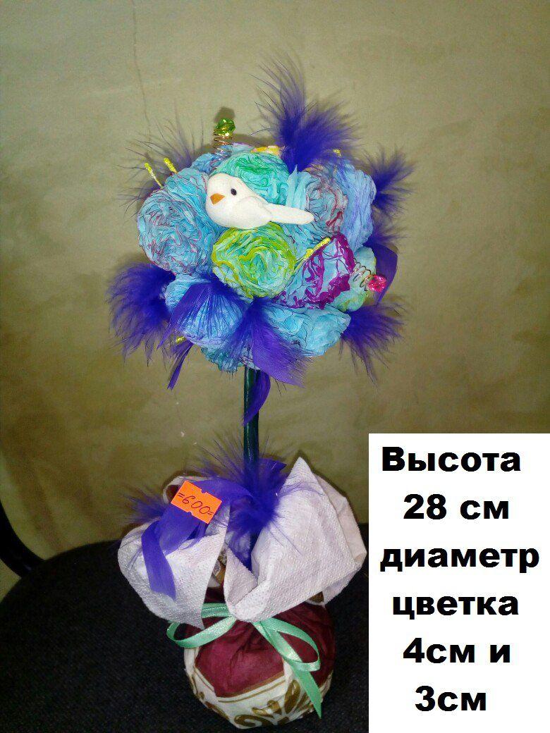 горшок ручная сувенир деревце топиарий работа цветок оригинальный цветы подарок