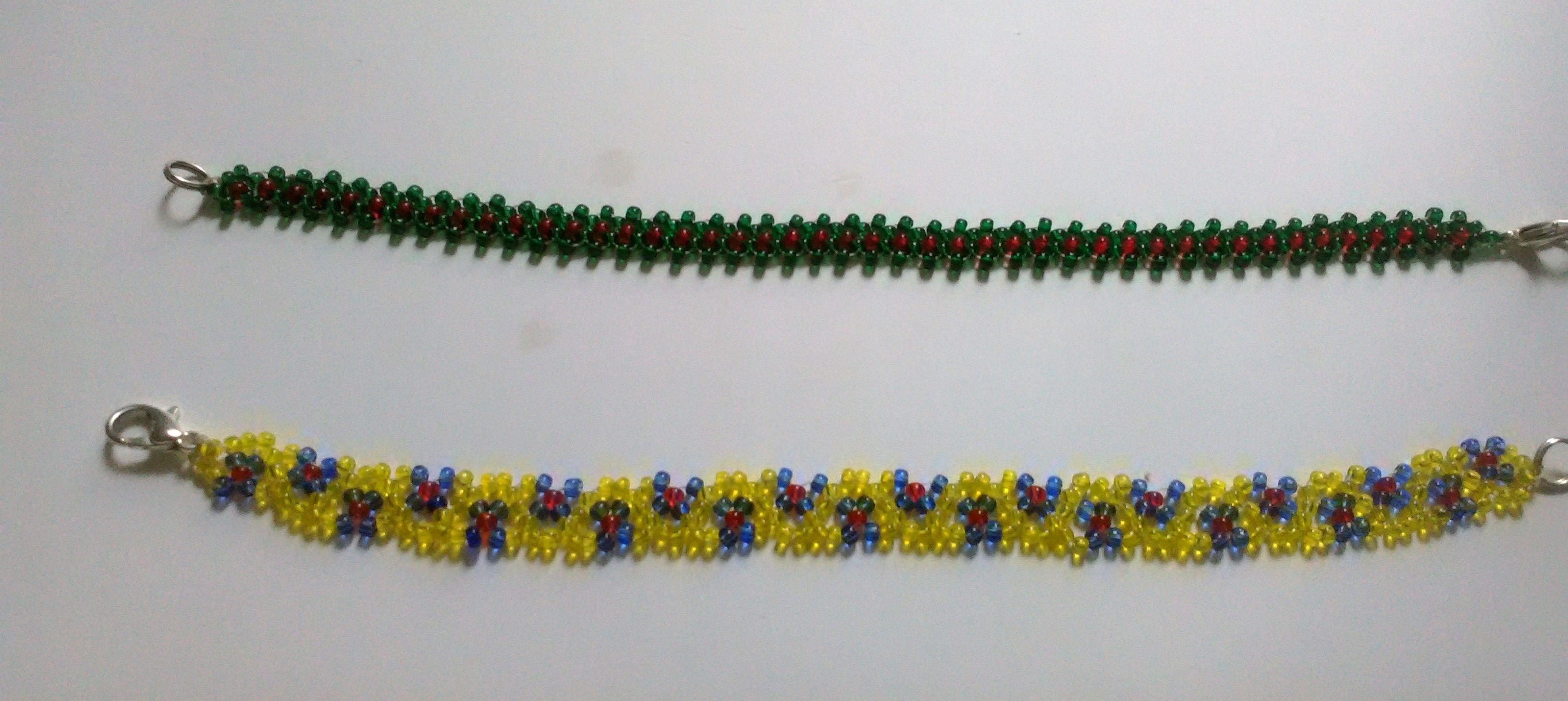 аксессуарыдетские детскиебраслеты минимализм избисера бисер браслеты бижутерия