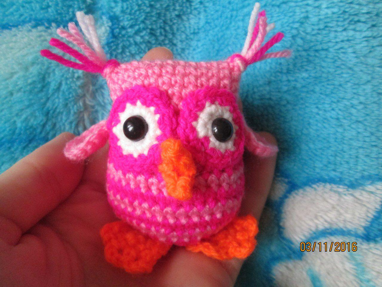 совенок вязаная игрушки подарки вязаные сова