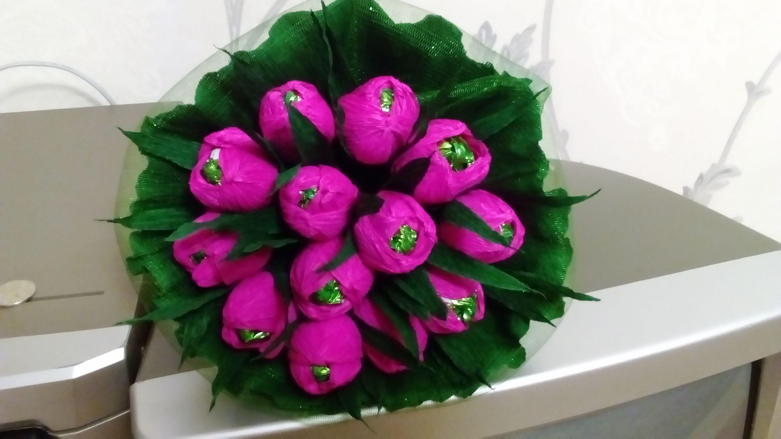 сладкий оригинальный вкусный букет конфеты подарок