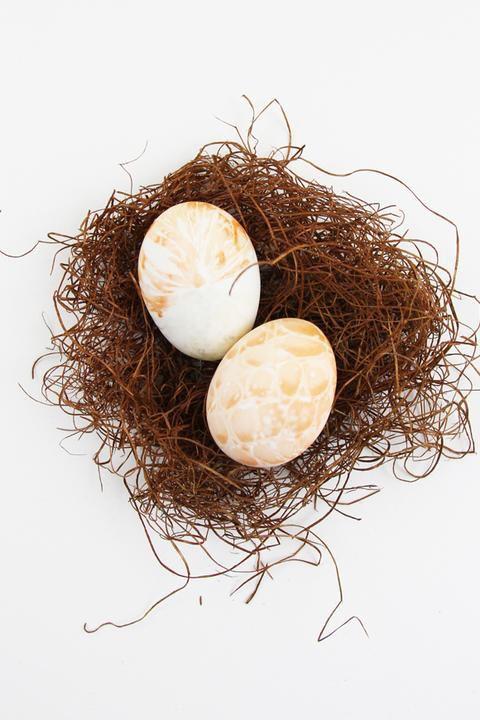 шелк пасха яйца
