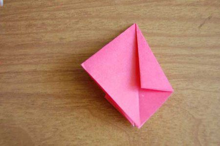 Оригами из бумаги цветы 18
