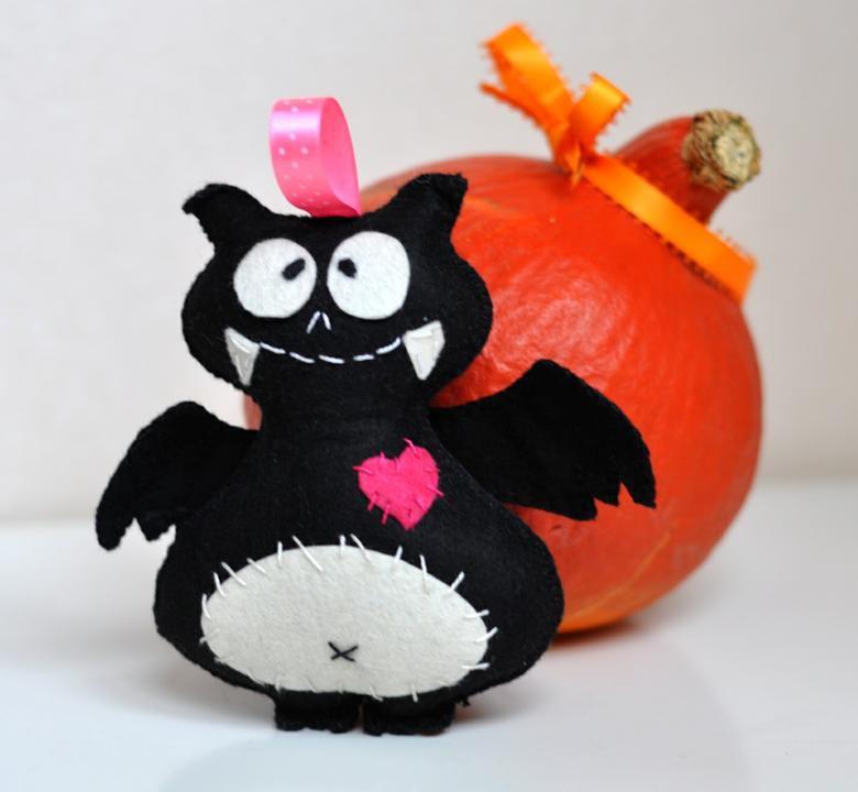 саше мастеркласс игрушка праздник шитье фетр хэллоуин